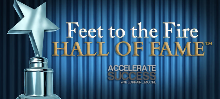 Feet to the Fire Hall of Fame - Lorraine Moore